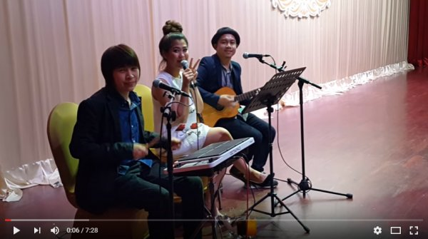 Tom Wedding Music : Acoustic Band : อาย : Tel:  081- 6263201