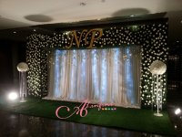 Backdrop หญ้าเทียม - 168 Alinfini Wedding Planner