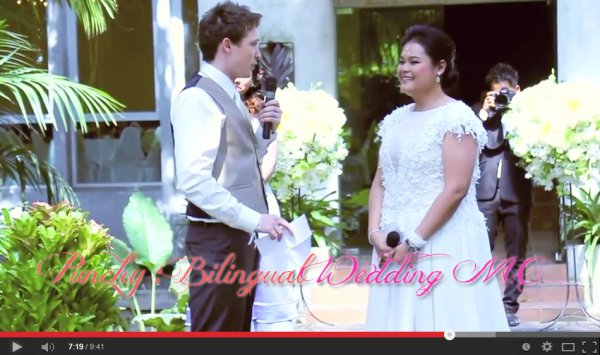 Wedding @ BannGamPoo by MC Punchy (Bilingual MC - MC Eng)