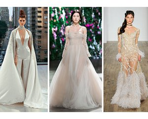 , What We Saw at New York Bridal Fashion Week