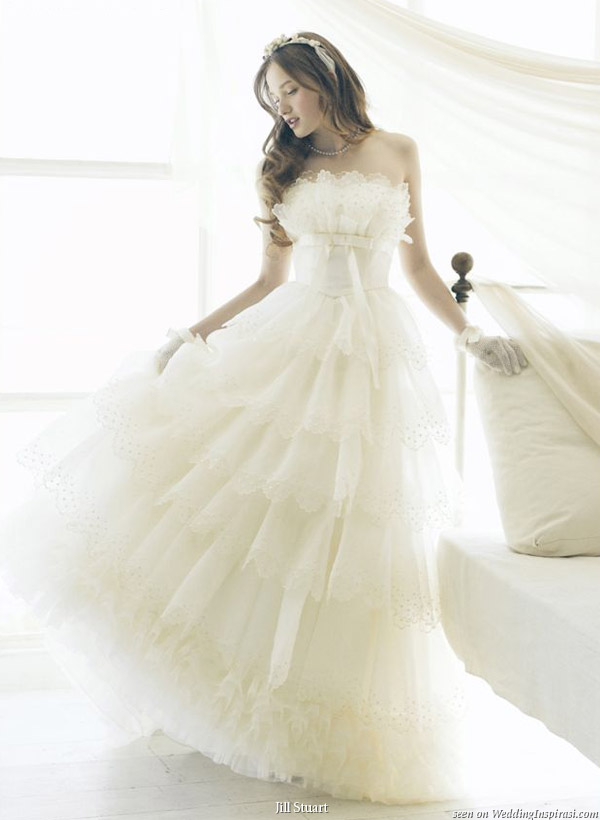 Ẻ�ش�觧ҹ Romantic Wedding Dresses by Jill Stuart