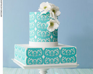 , Colorful Wedding Cakes