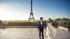 Pre wedding in Paris