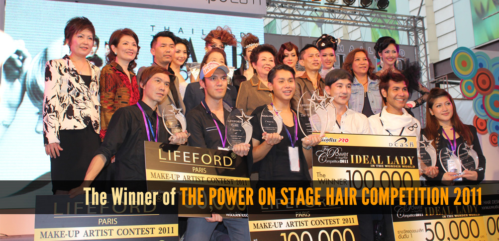 The Winner of THE POWER ON STAGE HAIR COMPETITION 2011