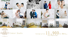 Unseen Indoor Studio Prewedding package